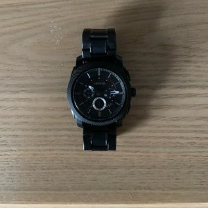 Other - Men's Black Fossil Watch